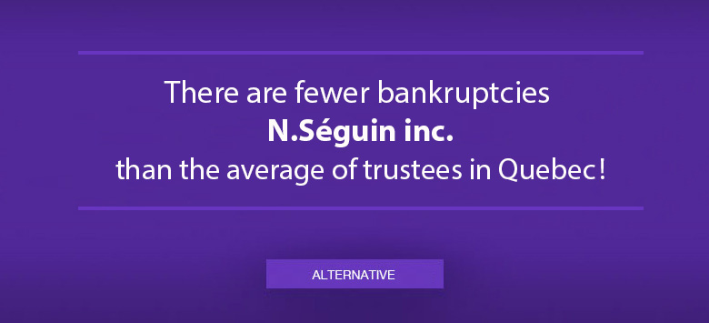 N. Seguin, Trustee, personal bankruptcy